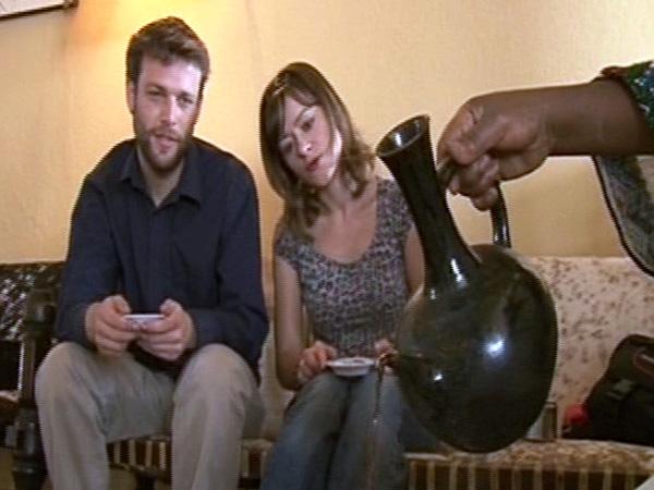 Miguel y Erika se aficionaron al bunna, el café etíope