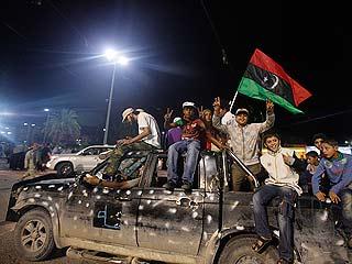 Ver vídeo  'Miles de libios salen a las calles para celebrar la muerte de Gadafi'