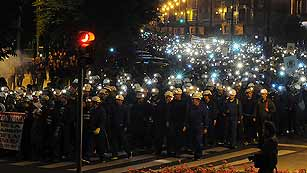 Ver vídeo  'Miles de personas se manifiestan en León en apoyo a la minería del carbón'