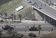 El ejército de Bahréin ha sacado los tanques a la calle