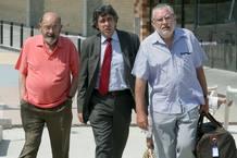 Millet y Montull, a su salida de prisión.