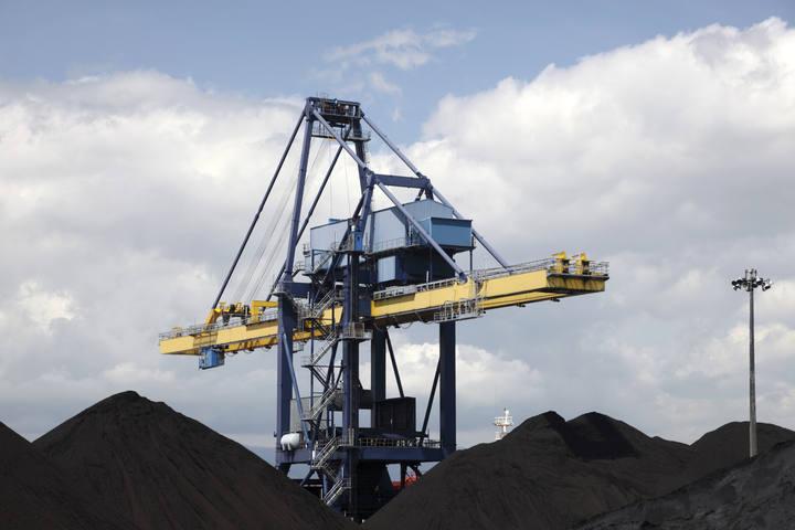 Mina de carbón en España