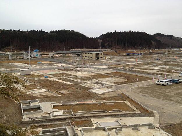 Minami Sanriku, un pueblo japonés devastado por el tsunami, un año despues.