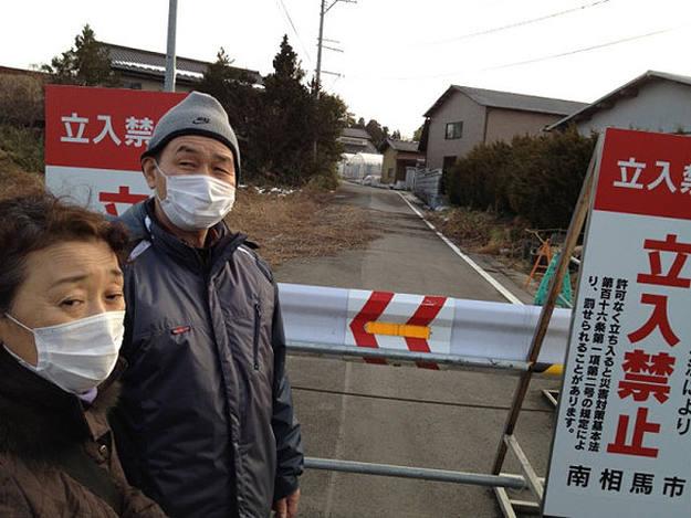 En Minami Soma comienza la zona de exclusión obligatoria a 20 kilómetros de Fukushima, una tierra fantasma.