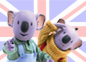 Imagen de un episodio de Los Hermanos Koala en ingl&eacute;s