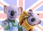 Imagen de un episodio de Los Hermanos Koala en inglés