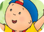 Imagen del  juego de Caillou titulado Memory Caillou