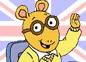 Imagen de un episodio de Arthur en inglés