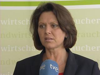 Ver v?deo  'La ministra de Agricultura de Alemania dice ser consciente del daño'