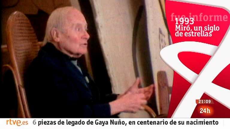 Fue informe - Miró, un siglo de estrellas (1993)