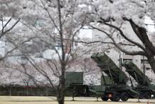 Misiles antiaéreos desplegados en instalaciones del Ministerio de Defensa en el centro de Tokio