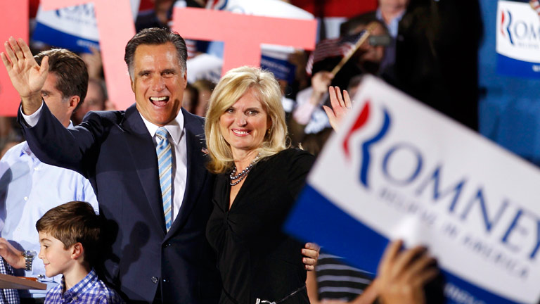Mitt Romney gana las primarias republicanas de la costa Este tras la retirada de Santorum