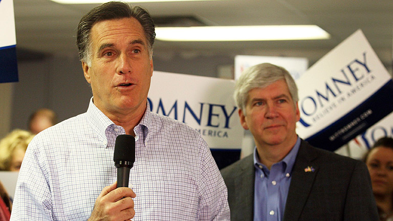 Mitt Romney es el candidato republicano con más posibilidades