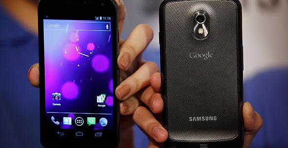El nuevo Galaxy Nexus, la suma de Samsung y Google