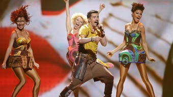 Ver v&iacute;deo  'Moldavia Eurovisi&oacute;n 2012 - Pasha Parfeny - 1&ordf; semifinal'