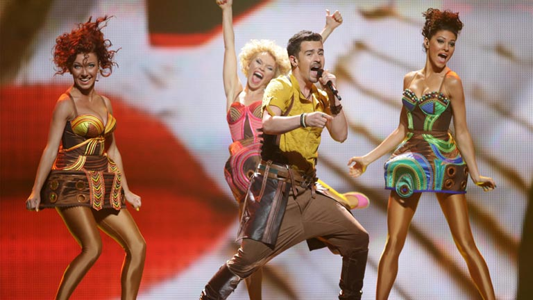 Moldavia Eurovisi&oacute;n 2012 - Pasha Parfeny - 1&ordf; semifinal