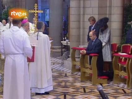Ver vídeo  'Mónaco festeja la entronización de Alberto II'
