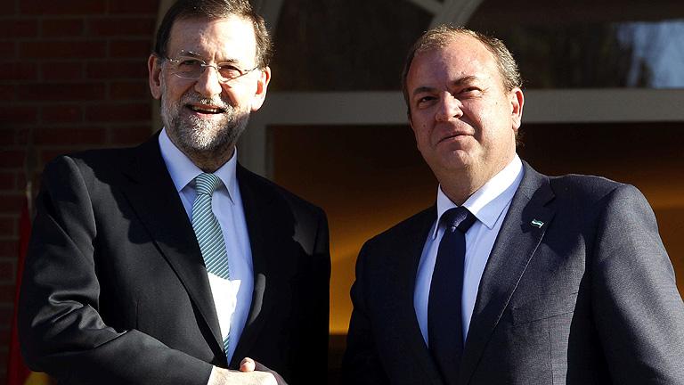Monago pide a Rajoy el AVE y un plan especial para las comunidades con más paro