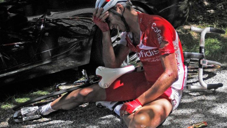 Moncoutie abandona el Tour 2012