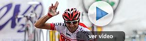 Moncoutié no falla a su cita con la Vuelta a España, Wiggins nuevo líder