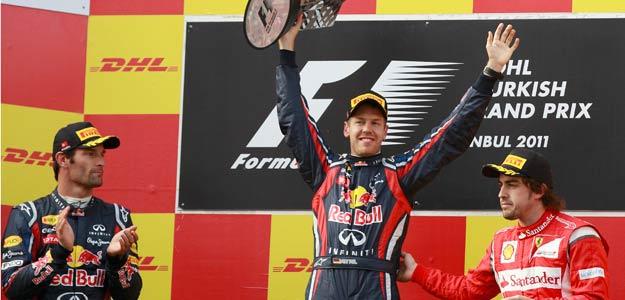 Monólogo de Vettel y podio para Alonso en Turquía