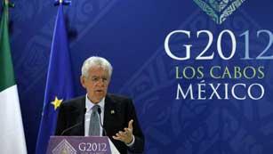 Ver vídeo  'Monti propone el uso del fondo de rescate para comprar deuda española e italiana'