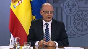 Ver vídeo  'Montoro emite un mensaje de confianza en España y su economía a pesar de la crisis'