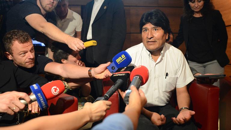 """Morales regresa a Bolivia tras su """"secuestro"""" por el 'caso Snowden'"""