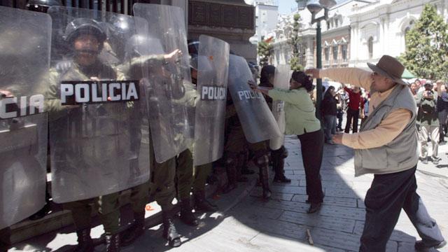Morales suspende el proyecto de carretera que origino la protesta indígena en Bolivia