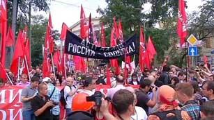 Ver vídeo  'Los moscovitas se manifiestan en sus calles para pedir reformas políticas en Rusia'