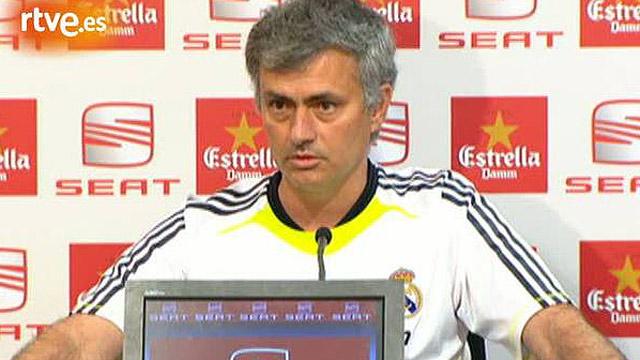 """Mourinho: """"En la Copa no hay favoritos"""""""