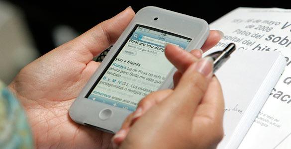Los móviles son una de las grandes herramientas del crecimiento de Twitter