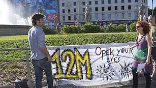 Ver vídeo  'El movimiento 15M cumple un año'