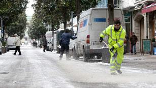 Ver vídeo  'Mucha nieve en cotas bajas es el paisaje en Baleares'