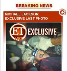 Muere Michael Jackson - Última foto
