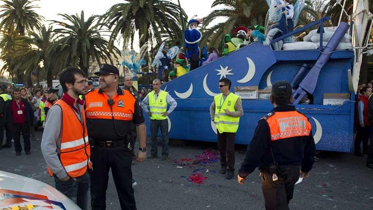 Muere un niño de 6 años en la cabalgata de reyes de Málaga