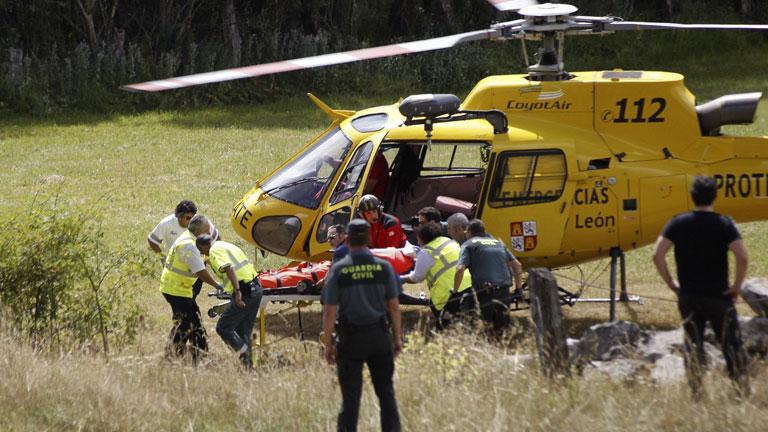 Mueren tres guardias civiles en un accidente de helicóptero