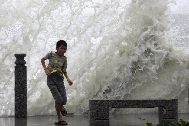 Tormenta tropical en China