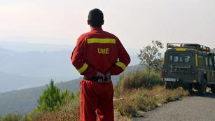 Ver vídeo  'Un muerto y tres heridos de la UME en el incendio de Sierra de Gata'