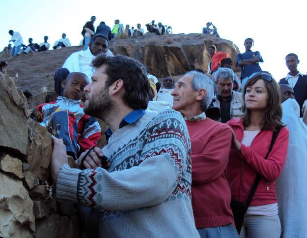 Una multitud se concentró en Lalibela para la celebración del Timkat