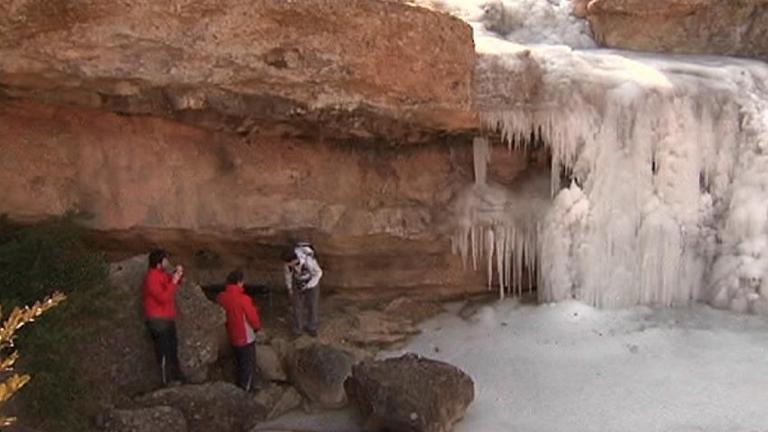 El hielo deja estampas que merece la pena contemplar