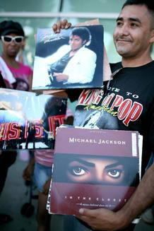 El mundo despide a Michael Jackson