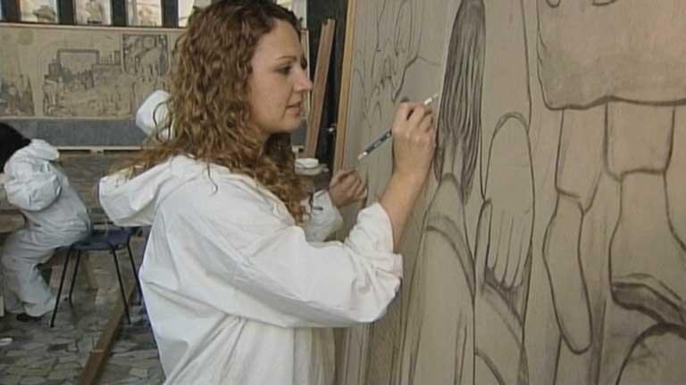 Recuperan la verdadera historia del mural del Rockeffeler Center