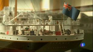 Ver vídeo  'El Museo Marítimo de Barcelona exhibe recuerdos del Titanic'