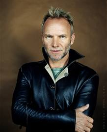 El m&uacute;sico Sting