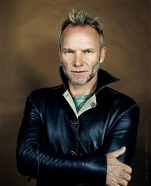 El músico Sting