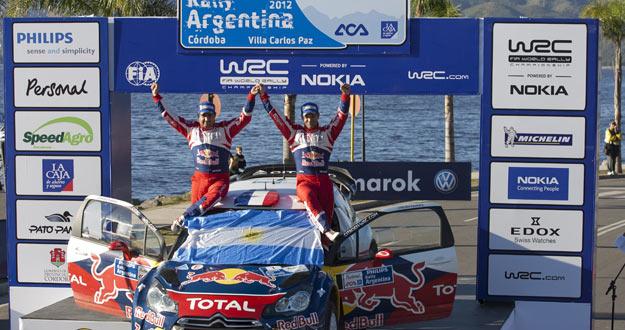 Loeb gana en Argentina