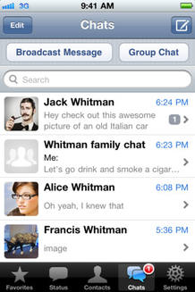 La aplicación Whatsapp vuelve a estar disponible en la Apple Store tras una actualización