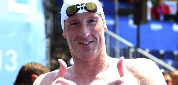 El nadador alemán Thomas Lurz