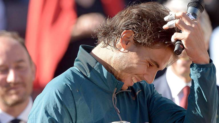 Nadal llega como un toro al Roland Garros